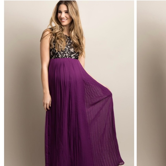 6bc2b82ff4 Pinkblush maternity maxi dress. M_5a6653b19cc7efd97560cf96